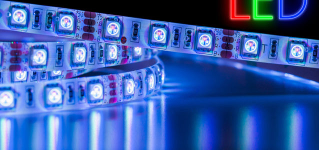 LED High Lumen Flex Strips